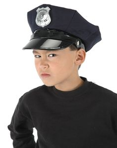 Police Officer Child Costume Hat