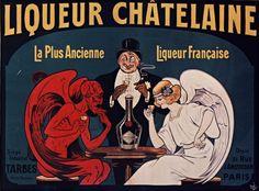 Liqueur Châtelaine, la plus ancienne liqueur française (1912)