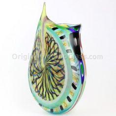 Alchimia - Vaso esclusivo - Vetro di Murano