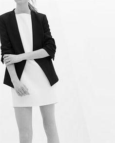 Via Silver Blonde | Black and White | Minimal Chic Fashion
