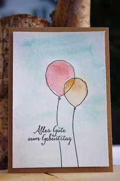Danielas Stempelwelt: Partyballons