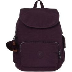 444c62a5fe9f Kipling City Pack small nylon backpack ( 88) ❤ liked on Polyvore featuring  bags