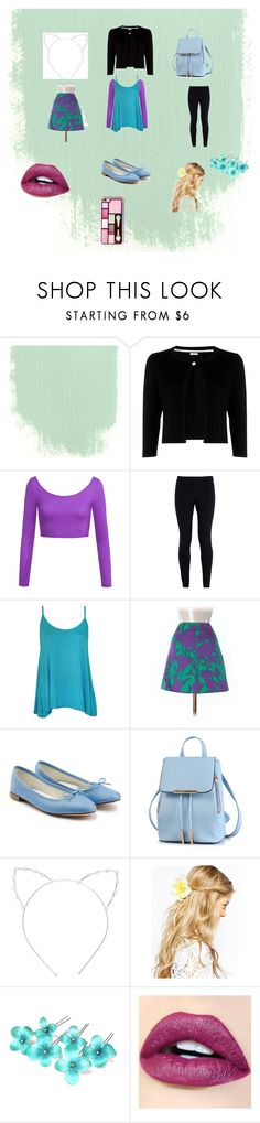 """""""vintage chic come back"""" by nymph337 on Polyvore featuring Precis Petite, LE3NO, NIKE, WearAll, Elie Tahari, Repetto, Cara, ASOS and vintage"""