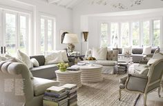 layers. neutrals. textures. lots of light...a good space for dreaming.