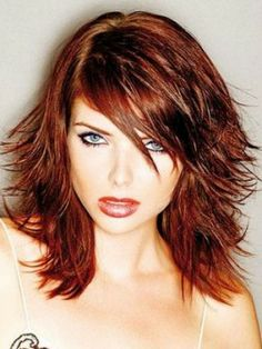 nice haircut, wish I could pull off red.... must think on this.