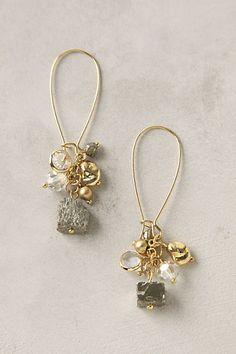 Pacific Shimmer Earrings #anthropologie