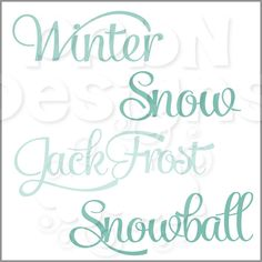 PPbN Designs - Winter Words (Free for Basic and Deluxe Members), $0.00 (http://www.ppbndesigns.com/products/winter-words-free-for-basic-and-deluxe-members.html)