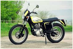 Borile B450 Scrambler - Pipeburn - Purveyors of Classic Motorcycles, Cafe Racers & Custom motorbikes