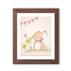 Bunny Nursery Art  Rabbit Nursery Decor  Baby by TheDaisyFields, $12.00