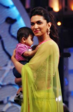 Deepika Padukone with baby