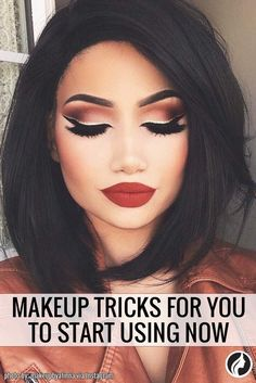 There are makeup tricks that can help you to look like a celebrity. Check out our collection of useful tips from makeup artists.