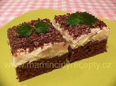 Czech Recipes, Ethnic Recipes, Healthy Diet Recipes, Something Sweet, Tiramisu, Baking Recipes, Cheesecake, Food And Drink, Sweets