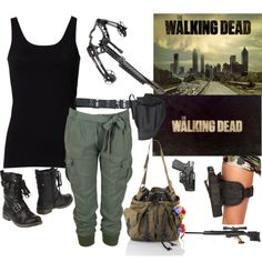 """The Walking Dead"" by justine177 on Polyvore"