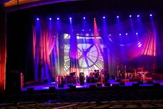 Don Henley Stage Drapery and Backdrop with Concert Lighting | Flickr - Photo Sharing!