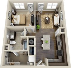 3d floor plan - Google Search