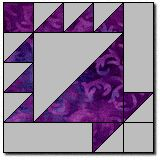 Amish Basket Quilt Block
