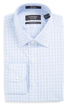 Nordstrom Men's Shop Nordstrom Men's Shop Traditional Fit Non-Iron Check Dress Shirt available at #Nordstrom