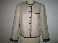 * * * Salzburger Dirndl-Look TRACHTENECHT Leinenjacke, Gr.38 * * * | eBay Ebay, Clothing Accessories, Fashion Women