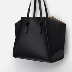 Image 3 of GEOMETRIC TOTE BAG SHOPPER from Zara
