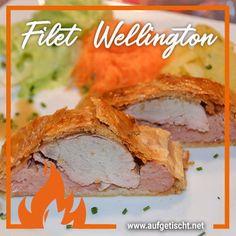 Was wäre ein Familienessen ohne unserem Klassiker - das Filet Wellington ist ein Renner seit ich denken kann. Wir lieben es einfach, und auch Weihnachten steht immer fix im Zeichen des Filet Wellington! <3 #wellington #schwein #schweinsrezept #lungenbraten #foodblogger #familienrezept #weihnachtsschmaus #ideen #rezept #Wurstbrat #strudel #familenrezept Snacks, Pulled Pork, Sandwiches, Strudel, Foodblogger, Christmas, Finger Food, New Recipes, Good Food