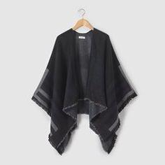 Casaco estilo poncho, tamanho único R pop - Casacos de malha