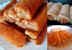 ♨ Pelusiowa Kuchnia ♨: Krokiety z chleba tostowego