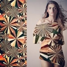 #kociara #printadress #spoonflower #textile #fabric design #print design #illustration #circles #fashion | Flickr - Photo Sharing!