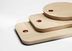 Ring cutting boards - H