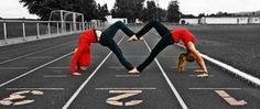 take a picture like this with my bestfriend! @Kaylagym29 we need to do this when xc starts!