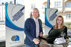 Michael und Stefanie am IT-Karrieretag in Salzburg. Fotoy by WildBild