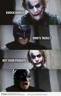Funny Batman, joker
