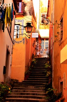 Street in the old town of Sintra, Portugal by Carlos Cristino on Sintra Portugal, Visit Portugal, Spain And Portugal, The Places Youll Go, Places To See, Places Ive Been, Vacation Places, Places To Travel, Casablanca