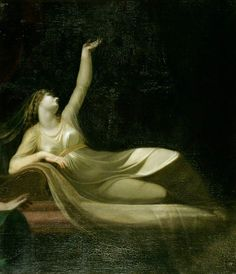 The Dream of Queen Katherine (from Shakespeare's Henry VIII). Henry Fuseli