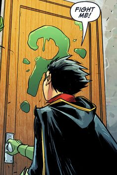 Damian is cute as ever (≧▽≦) | Batman and Robin | Damian