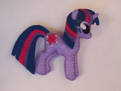 TWILIGHT SPARKLE!! (I'm totally buying one of these and will be adding it to the mobile.)