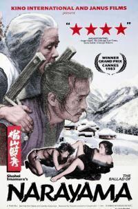 Ballad of Narayama. Ken Ogata, Sumiko Sakamoto, Mitsuko Baisho. Directed by Shohei Imamura. 1983