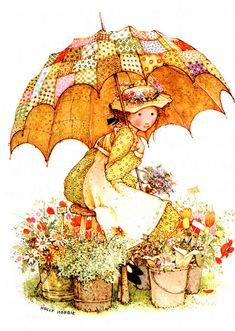 Betsey Clark, Holly Hobbie, Sarah Kay e outros Holly Hobbie, Mary May, Art Magique, Decoupage, Hobbies To Try, Cheap Hobbies, Dibujos Cute, Vintage Cards, Belle Photo