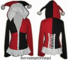 I found 'Harley Quinn Hoodie' on Wish, check it out!  I want this soooo bad!