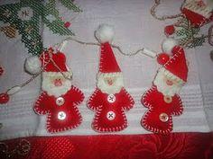 Babùn e altro...: Ornamento natalizio in pannolenci