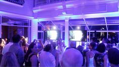 Bride and groom rockin' out to Don't Stop Believing! | They are were awesome singers! | #unforgettabledjs