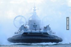 Russian amphibious assault craft