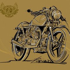 r_a_b_a_n_o's photo #illustration #motorcycles | caferacerpasion.com