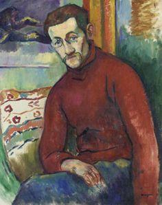Henri Manguin (French, 1874-1949) : Portrait de Jean Puy, 1906.
