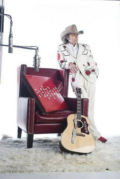 """Dwight Yoakam!  """"Guitars, Cadillacs, and Hillbilly Music!""""  Don't forget your Nudie suit!"""