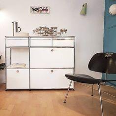 Meuble de rangement USM, Suisse, 1960 Sideboard, Dresser, Inspiration, Furniture, Home Decor, Switzerland, Simple, Biblical Inspiration, Powder Room