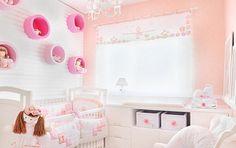 Quarto de bebê salmão e rosa (01)