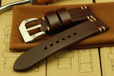 Heroic18 Ares Reddish Brown watch strap