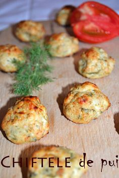 Chiftele de pui - RETETE DUKAN Tasty, Yummy Food, Dukan Diet, Finger Foods, Baked Potato, Healthy Recipes, Healthy Food, Recipies, Food And Drink
