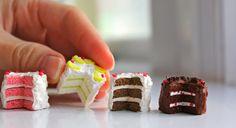 Tutorial : Lemon Cake Miniatures
