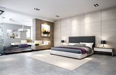 Contemporary bedroom design can be easily achieved by making everything neutral and the entire look as minimalist as possible. Checkout 30 awesome contemporary bedroom designs.